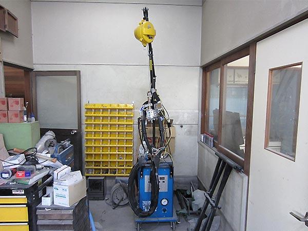 設備 スポット溶接機